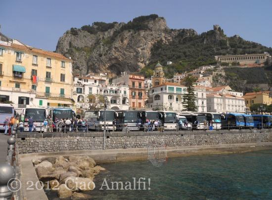 Amalfi Coast Tourist Buses