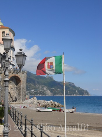 Amalfi Coast Beach Atrani