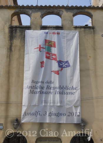 Regata delle Antiche Repubbliche marinare Amalfi 2012 Banner