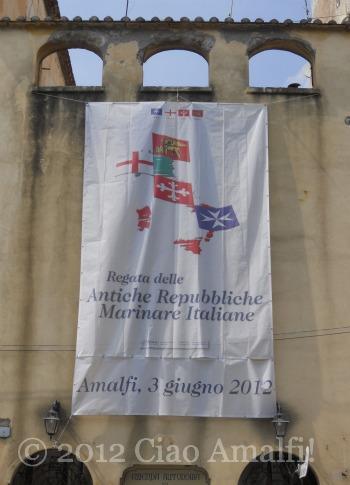 Regata delle Antiche Repubbliche marinare Amalfi 2012 Banner