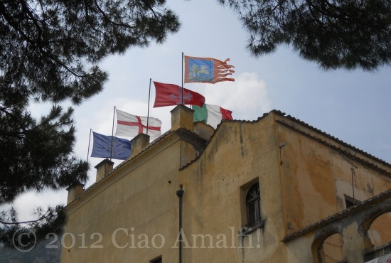 Regata delle Antiche Repubbliche marinare Amalfi 2012 Flags
