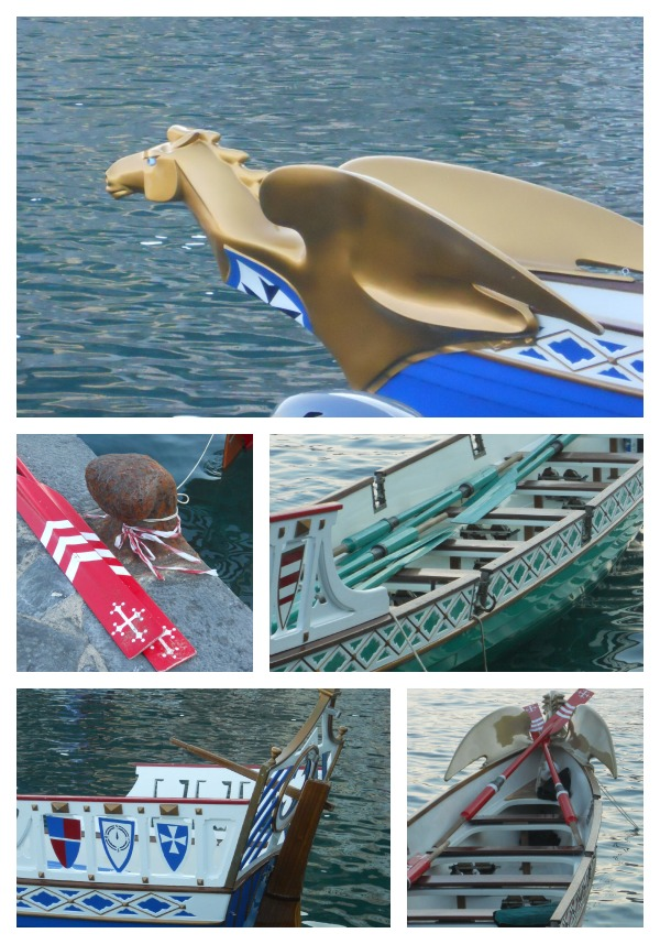 Historical Regata Boats in Amalfi 2012