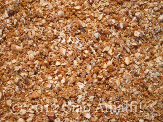 Homemade granola -simple and easy!