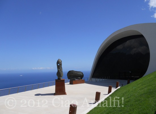 Igor Mitoraj Art Exhibition Ravello Festival 2012 Oscar Niemeyer Auditorium