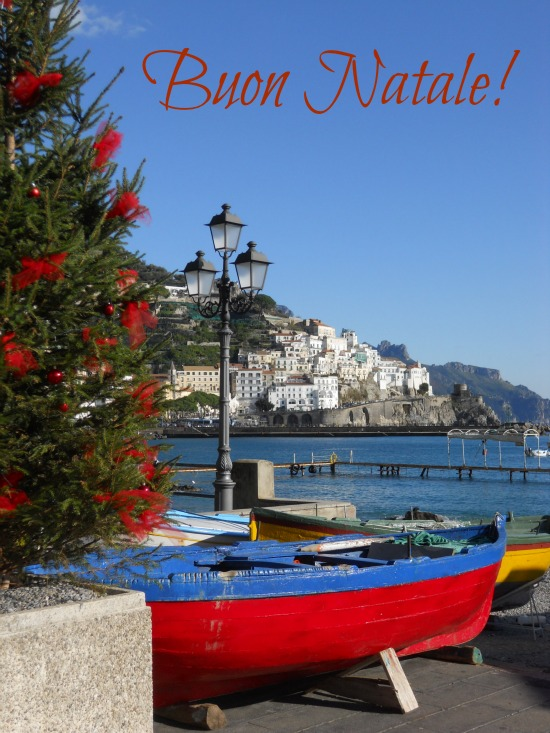 Merry Christmas from Amalfi