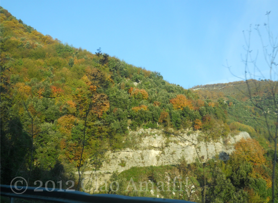 Autumn Drive to Tramonti on the Amalfi Coast