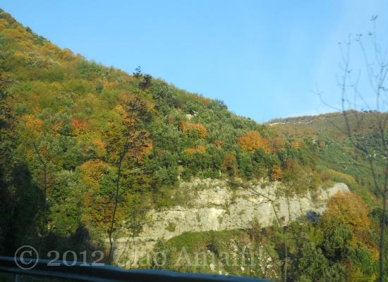 Autumn Drive to Tramonti on the Amalfi Coast