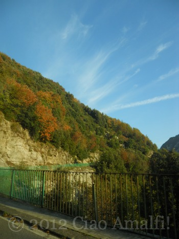 Autumn colors on the Amalfi Coast