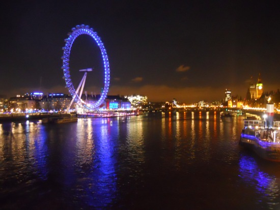 London River Thames at Night