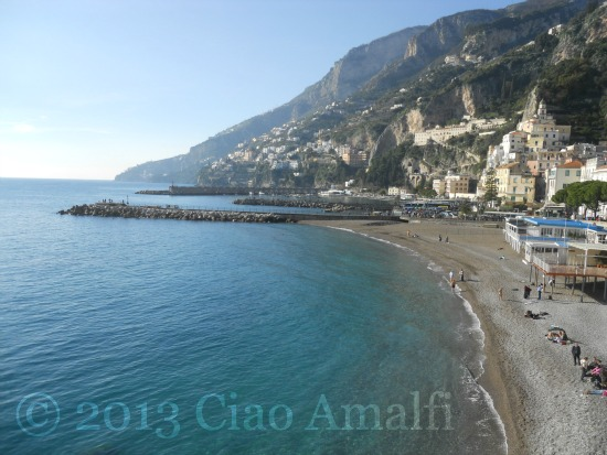 Amalfi Harbor New Year's Day 2013