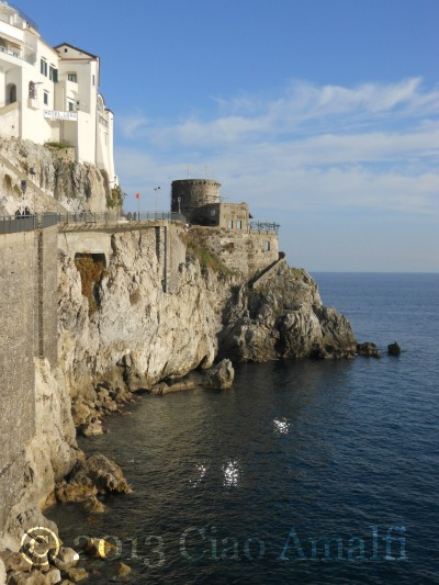 Amalfi Hotel Luna Watchtower January 2013