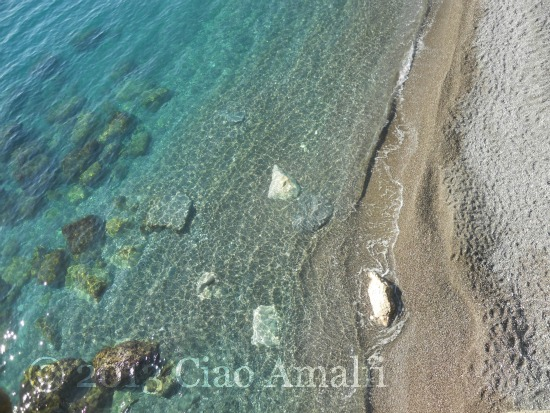 Amalfi Turquoise Sea New Year's Day 2013