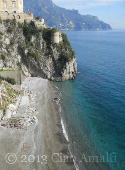 Ravello Castiglione Beach January 2013