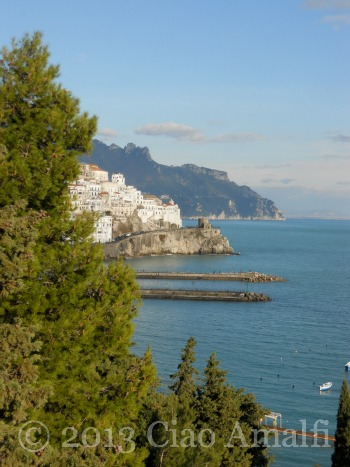 View of Amalfi from Above
