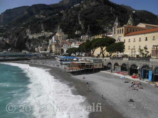 Sunny Palm Sunday in Amalfi