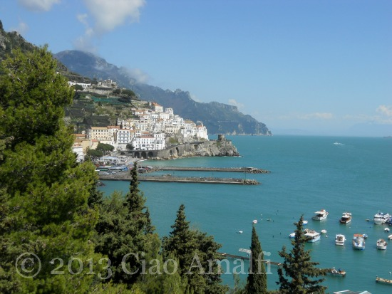 Ciao Amalfi Coast Blog Amalfi Harbor