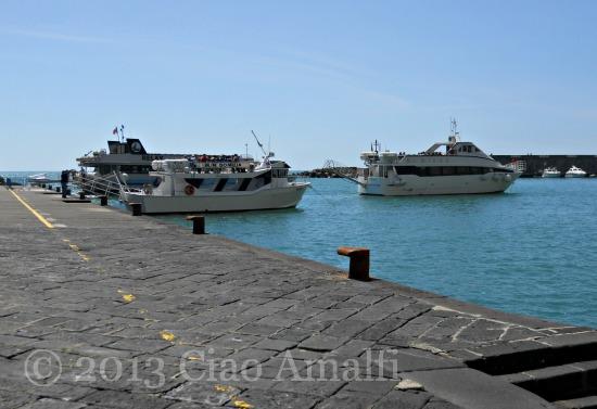 Ciao Amalfi Coast Blog April Boats