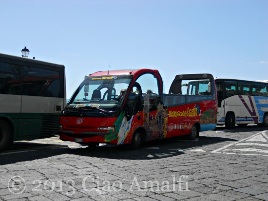Ciao Amalfi Coast Blog Buses April