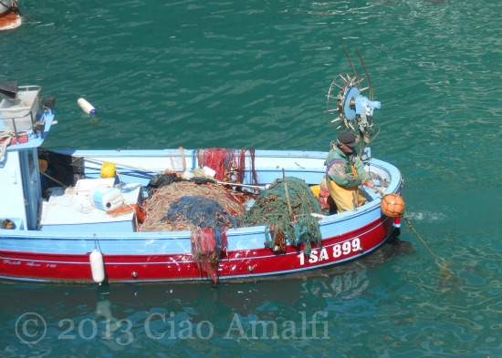 Ciao Amalfi Coast Blog Fishing Boat
