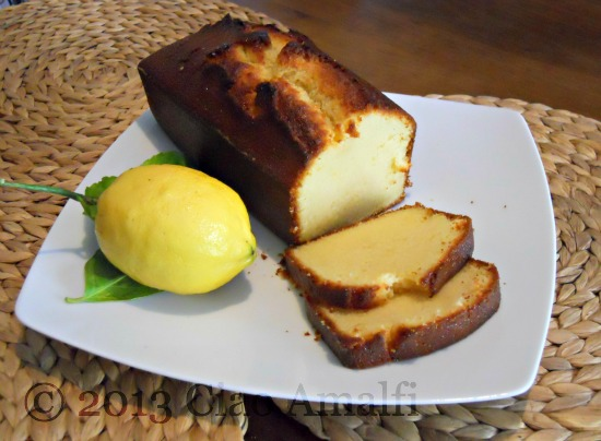 Ciao Amalfi Coast Travel Lemon Pound Cake Recipe Amalfi Lemons