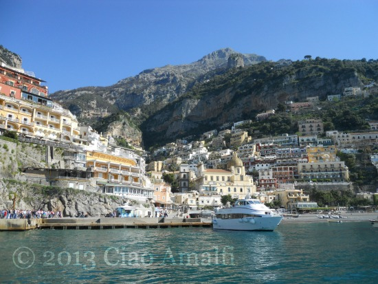 Ciao Amalfi Travel Wisteria Positano Ferry