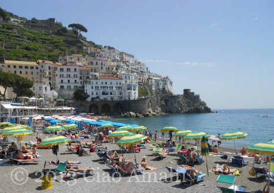Ciao Amalfi Coast Travel Blog Marina Grande Beach