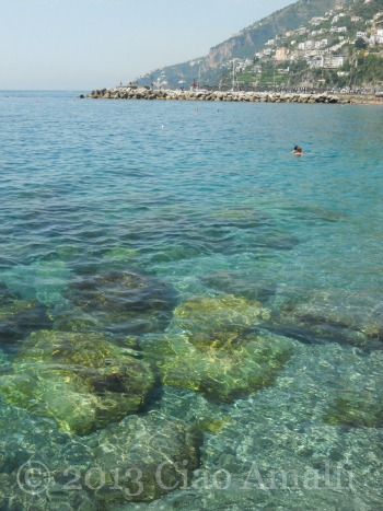 Ciao Amalfi Coast Travel First Swim June Clear Water