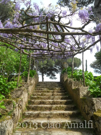 Ciao Amalfi Coast Travel Ravello Villa Cimbrone Stairs to Paradise