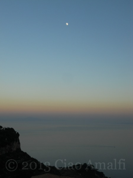 Ciao Amalfi Coast Travel Sunset Ravello