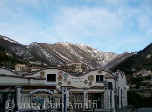 Ciao Amalfi Coast Travel November Snow Ravello