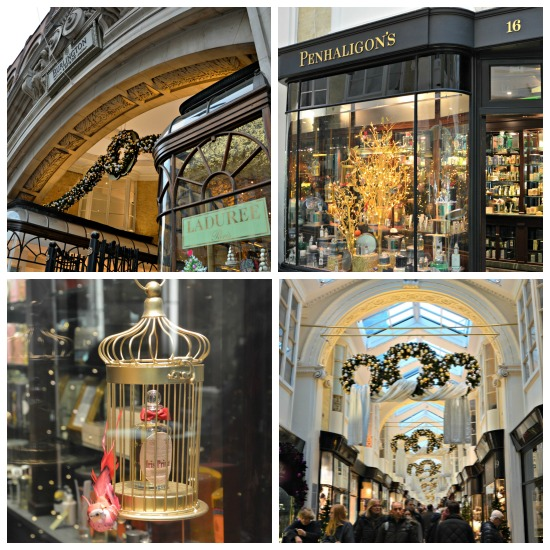 Burlington Arcade Shopping in London