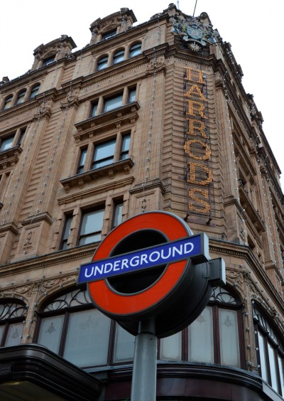 Take the Tube to Harrods