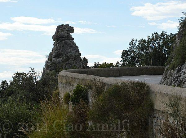 Amalfi Coast Travel Capo dOrso Bear Head