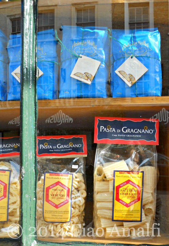 Amalfi Coast Travel Pasta di Gragnano