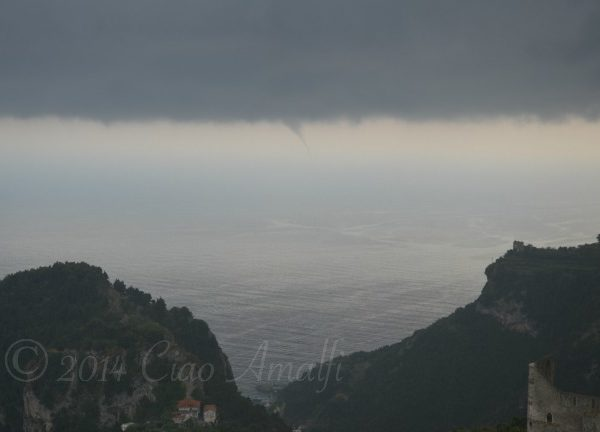 Amalfi Coast Travel Summer Storms