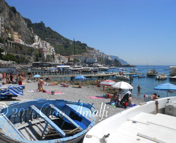 Amalfi Coast Best Beaches Harbor