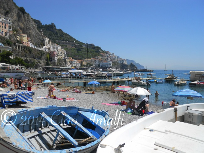 Amalfi Coast Best Beaches Harbor