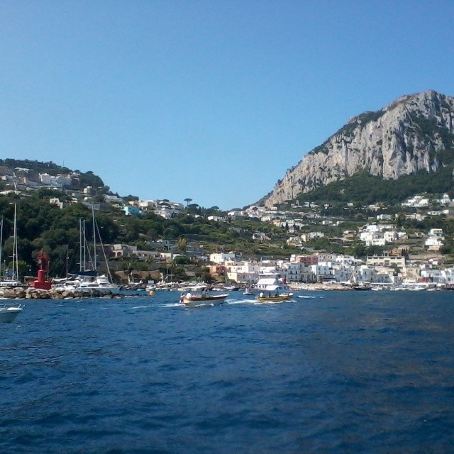 Arriving at Marina Grande harbor in #Capri. #21daysofcapri #italy #travel