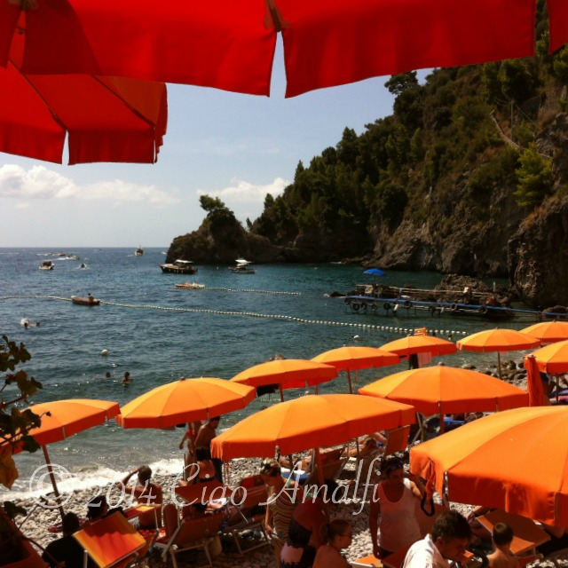 Beautiful Amalfi Coast Beach