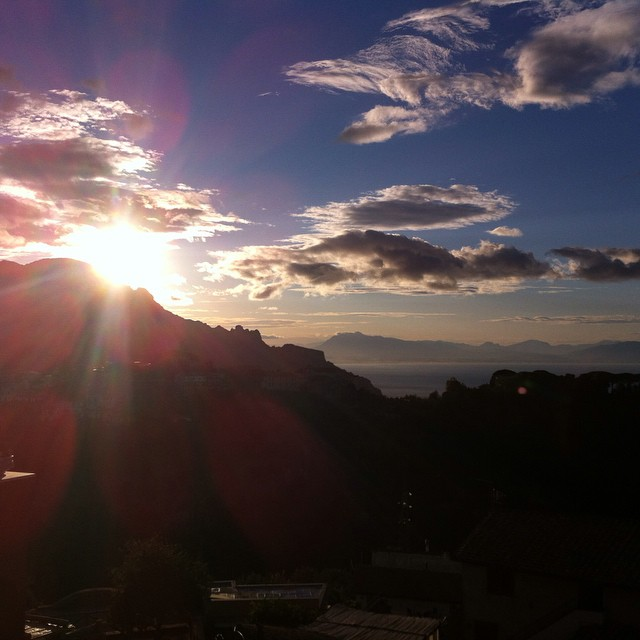 Good morning sunshine! #AmalfiCoast #sunrise #dreams #italy #thisisitaly