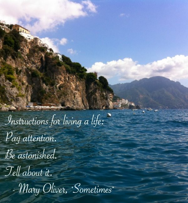 Foto Friday: Instructions for Living a Life