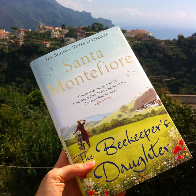 Oh happy day! When the latest book by your favorite author arrives in the mail. @santamontefioreauthor #books #reading
