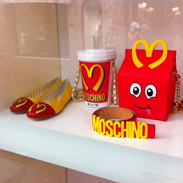A little silliness at Moschino in #Capri. :P