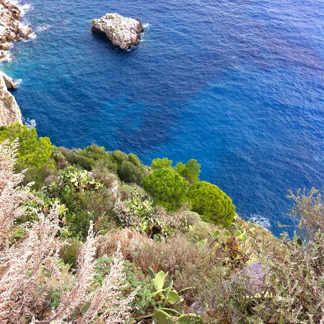 I love that blue! #Capri #Italy