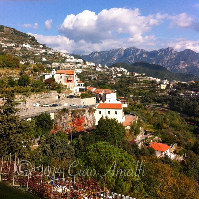 Amalfi Coast Travel Autumn Scala