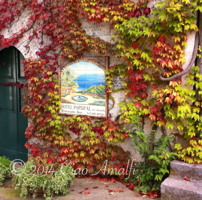 Autumn Colors in Ravello on the Amalfi Coast