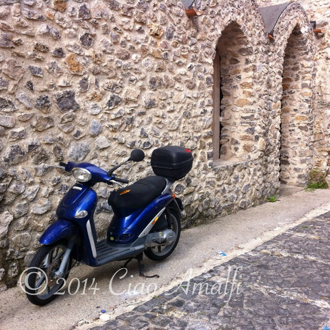 Amalfi Coast Travel Scooter