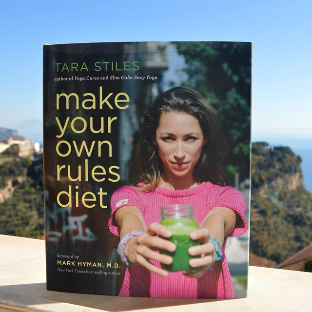 Oh happy day!! @tarastiles Make Your Own Rules Diet has landed on the Amalfi Coast. #italy #makeyourownrulesdiet