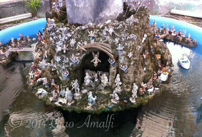 Amalfi Coast Travel Fountain Presepe Nativity