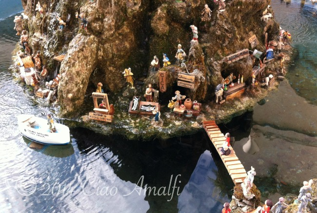 Amalfi Coast Travel Nativity Scene